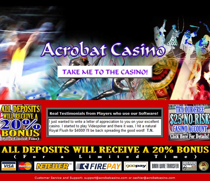 Acrobat casino Old