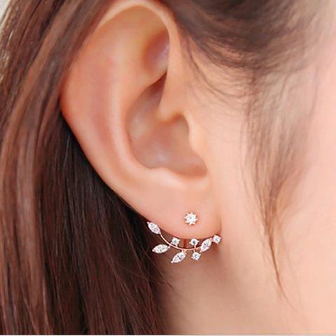 Leaf Ear Cuff Earrings