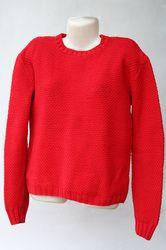 maglione di cotone (fatto a maglia) - knitted cotton sweater