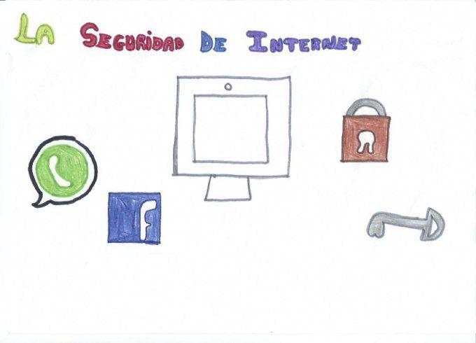 #Diadeinternet  visto por los niños. Actividades en centros escolares.