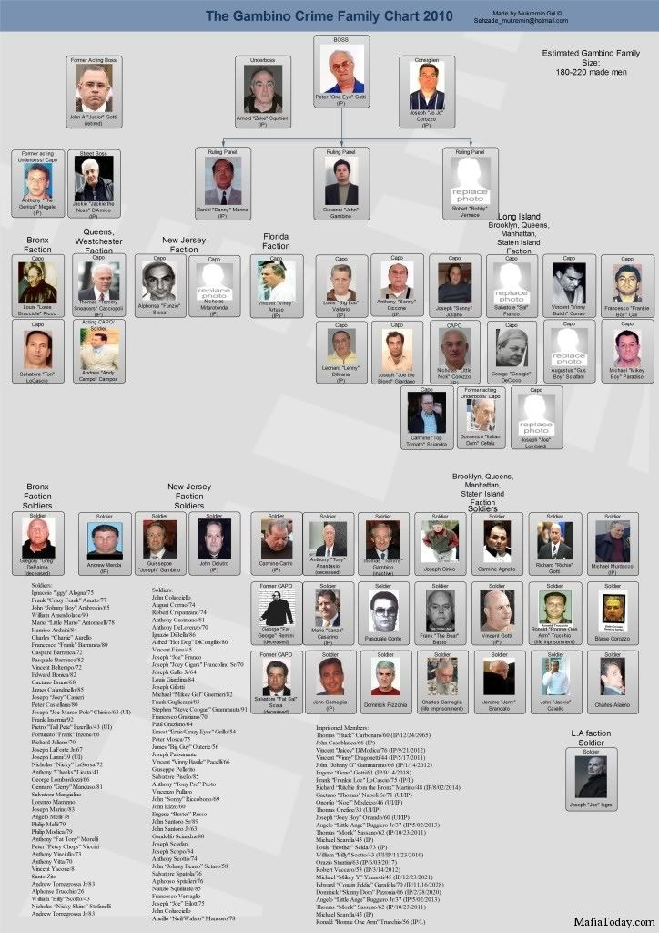 family life of the mafia Nearly 125 mafia members were  members of the gambino family—one of five major new york crime families whose  slate is published by.