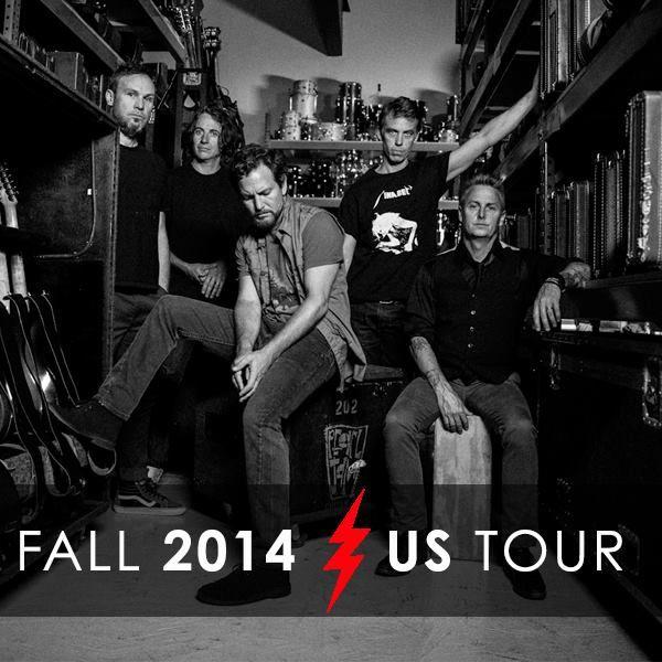 PEARL JAM ANNOUNCE 2014 U.S. TOUR DATES | The Rock Revival