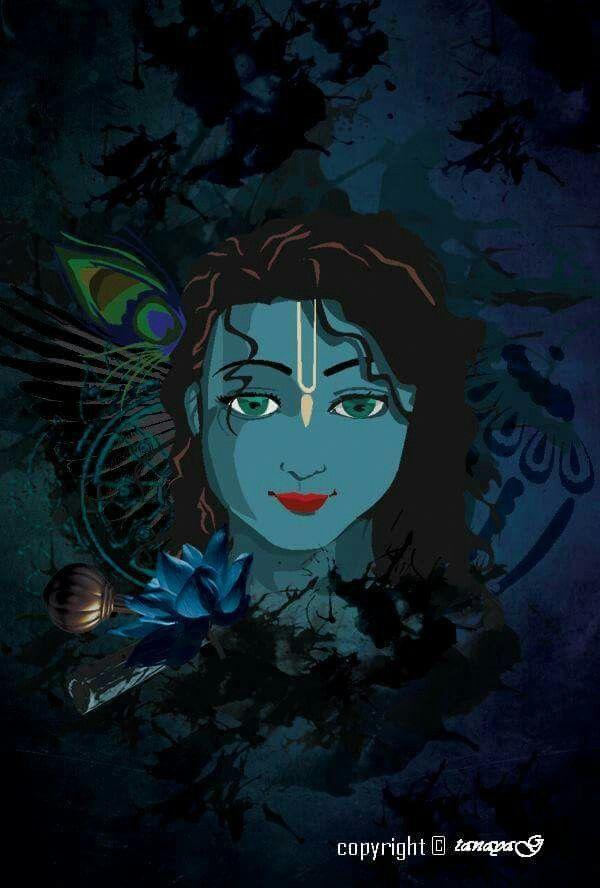 Art of Krishna #LordKrishna #DandvatPranam dandvat.com