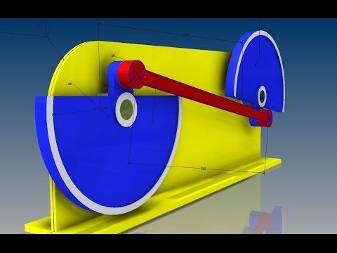 Movimiento perpetuo Balancin Ucros simulación dinamica - YouTube