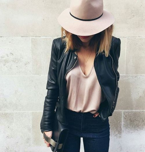 classy-lovely:  Hat Vest Jacket                                                                                                                                                                                 More
