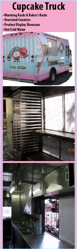 custom food carts, etc.....Cupcake Truck---I WANT ONE!!