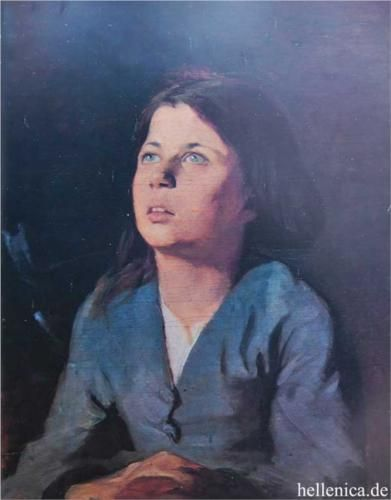 Portrait of a girl - Polychronis Lembesis