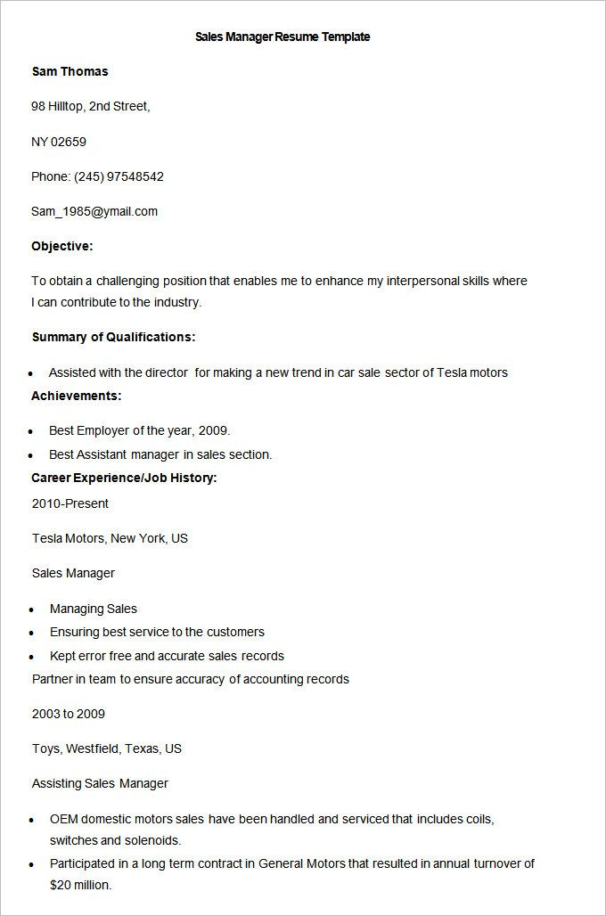 25 Unique Sales Resume Ideas On Pinterest Sales Resume Examples