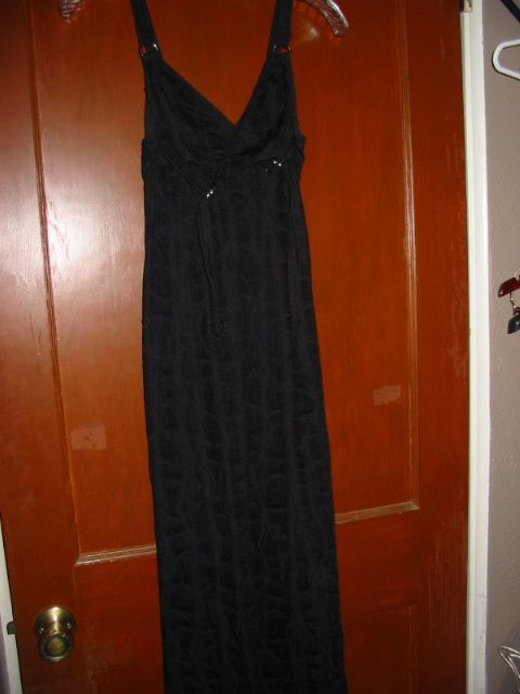 LIP SERVICE Soft Cell long dress #29-39 - black size M-XL