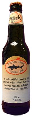 DFH's pumpkin beer pairing recs: Food Pairing Recommendations:   Turkey, roasted duck, lamb, stuffing, dessert dumplings, sharp cheddar