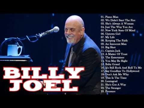 BILLY JOEL Greatest Hits Full Album | BILLY JOEL Best Songs Playlist - YouTube