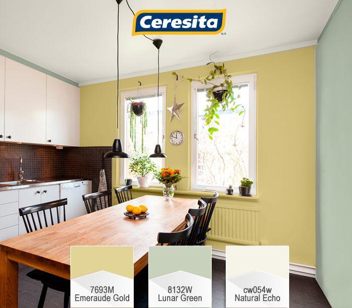 #CeresitaCL #PinturasCeresita #color #cocina #pintura #decoración #tendencia #espacios *Códigos de color sólo para uso referencial. Los colores podrían lucir diferentes, según calibrado de su monitor