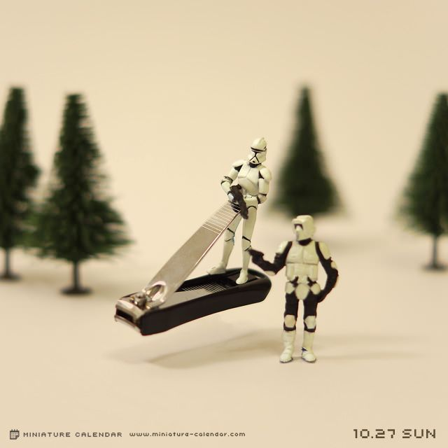 Star Wars Storm Trooper Nail Clipper hover craft. Clever.