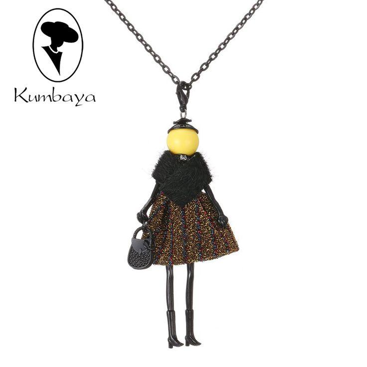 Последние Новая Мода Кукла Ожерелье! симпатичные Зимние Кожаные Куклы Ожерелье Женщины Аксессуары Ювелирные Изделия Женщина Подарки Партия Себе NS415 купить на AliExpress