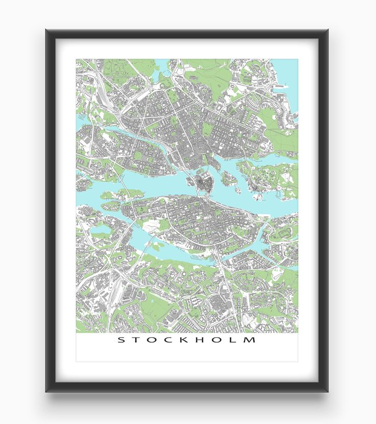Best Greece Map Prints Images On Pinterest Places Travel And - Sweden map bodies of water