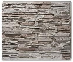 StoneWorks Faux Stone Siding Panels - Stacked Stone - good for fireplace surround?