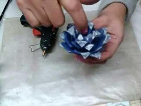 Manualidades 3er video de flores hechas con  carton de huevo / egg carto...