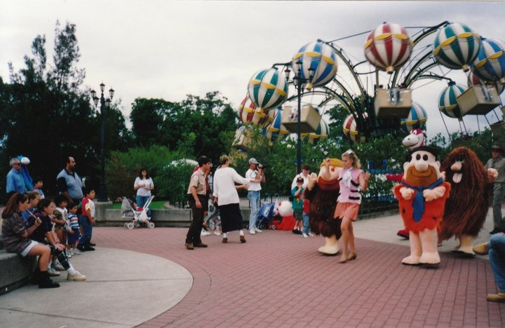 Some of the Hanna Barbera Characters @ Wonderland