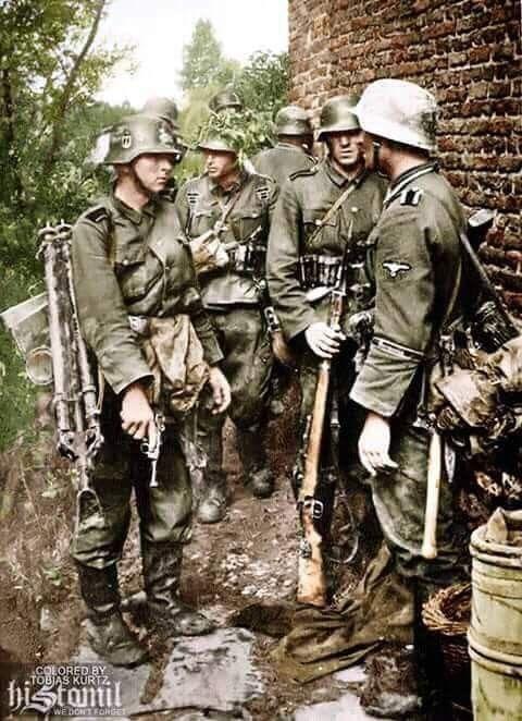 German SS in France 1940