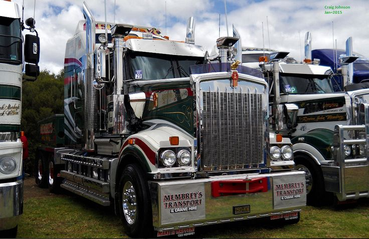 https://flic.kr/p/Sywjvq | photo by secret squirrel | Truck of the Day Membreys Big Kenworth at Tooradin=2015
