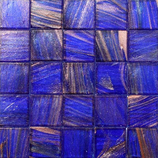 cadet 25 metallic glass mosaic tiles translucent