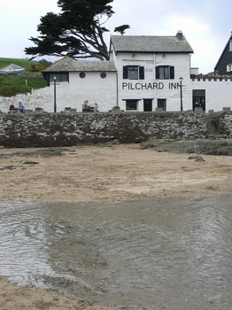 The ancient Pilchard Inn