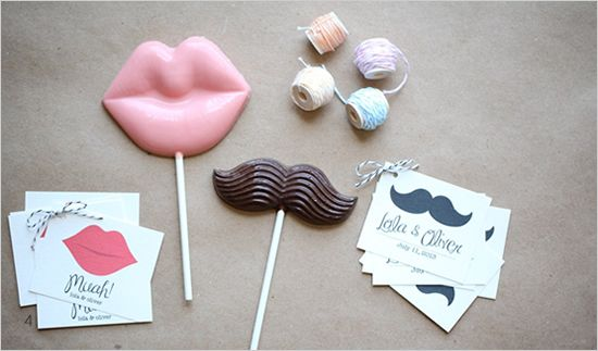 diy mustache and muah