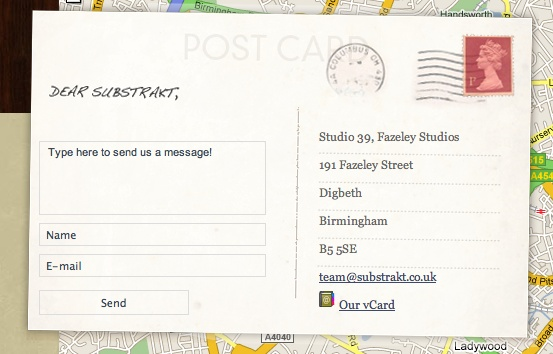 postcard contact form BLOG DESIGN - CUTE Pinterest Contact - postcard format template