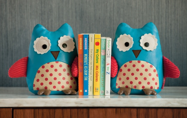 Treetop Friends Bookends - Owls Set of 2