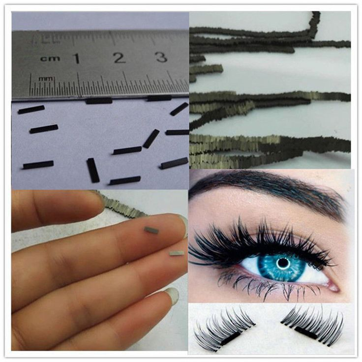 2017 A# False Eyelash 12Pcs Reusable-Magnet-Sheet-For-3D-Magnetic-False-Eyelashes-Extension-Handmade Make Up #Affiliate