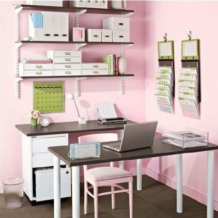Girly organization room!