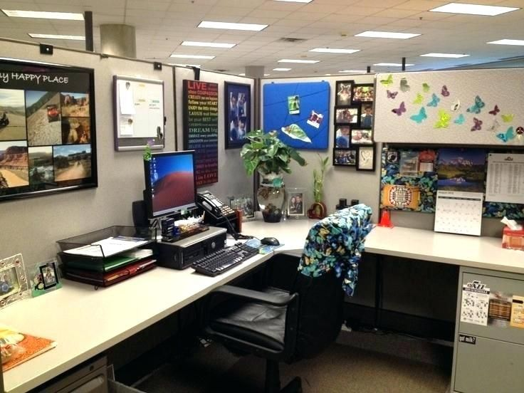 Ideas To Decorate Your Office Work Decorated Office Cubicles