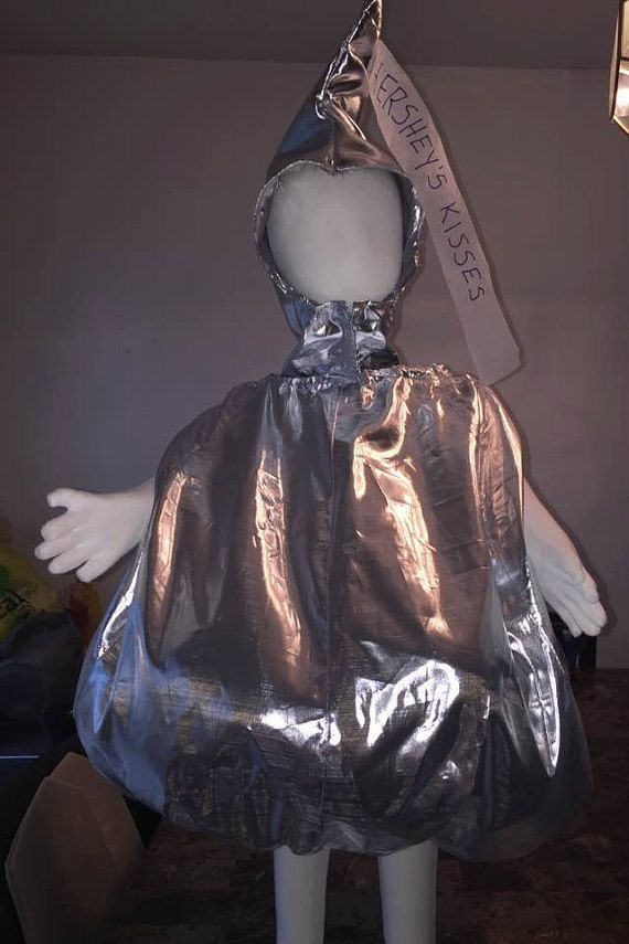 Hershey's Kiss Costume by BarbsBlissfulThings on Etsy