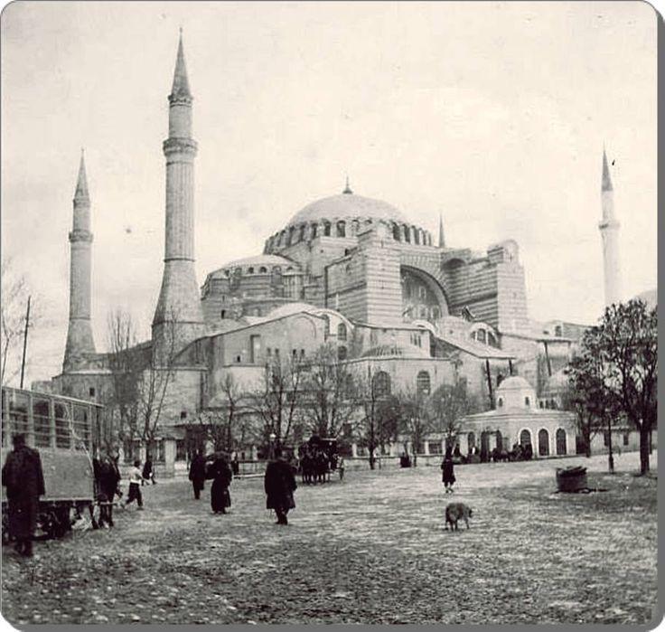 Ayasofysa Camii, 1908