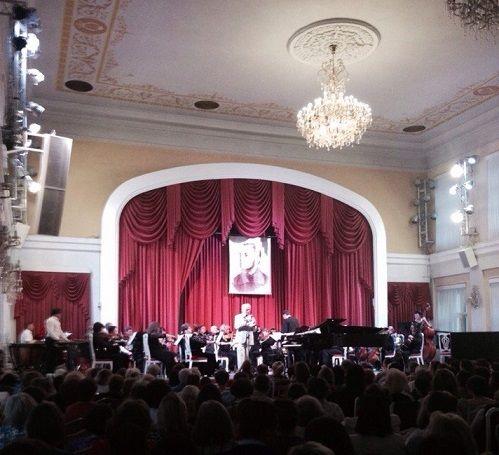 Concert of Eugen Doga in Smolensk, at the 58th International music festival named after M. I. Glinka. 4.06.2015