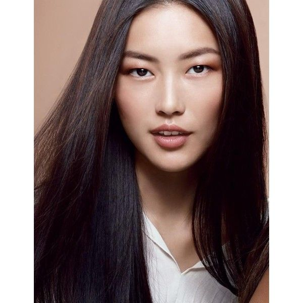 7 Asian Models Changing the Face of Fashion ❤ liked on Polyvore featuring models and faces