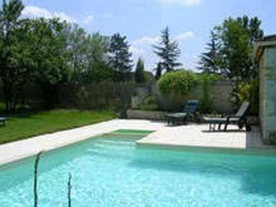 piscine de la Propriété avec chambres d'hôtes à vendre près de Bergerac