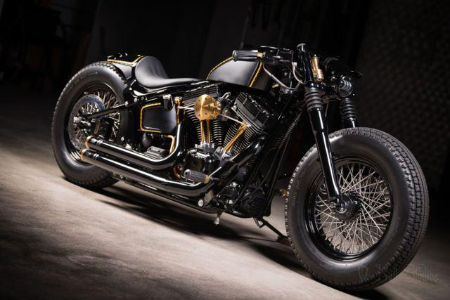 Harley Softail Slim >> Image result for softail bobber | Softail bobber, Bobber, Bike