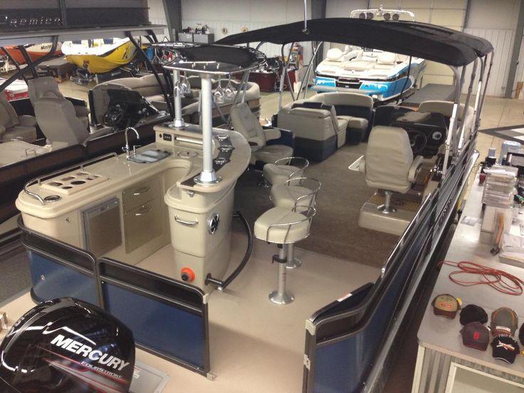 Pontoon boat kitchens bing images for Pontoon boat interior designs