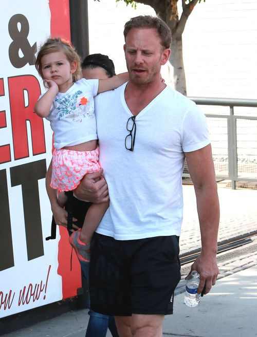 Ian Ziering & Family: Furniture Shoppers