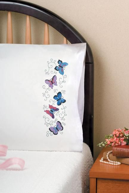 Fundas de almohada - Patrones y Kits de bordado - 123Stitch.com