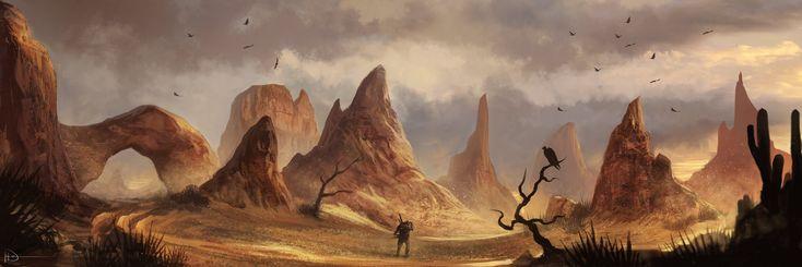Valley Of A Thousand Suns by Ninjatic.deviantart.com on @deviantART