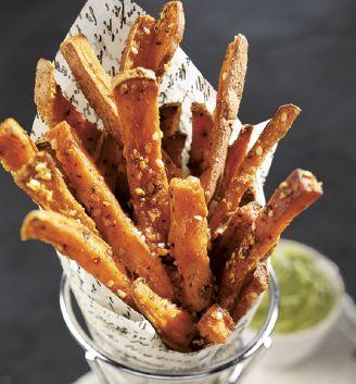 Frittes de patates douces et épices cajun