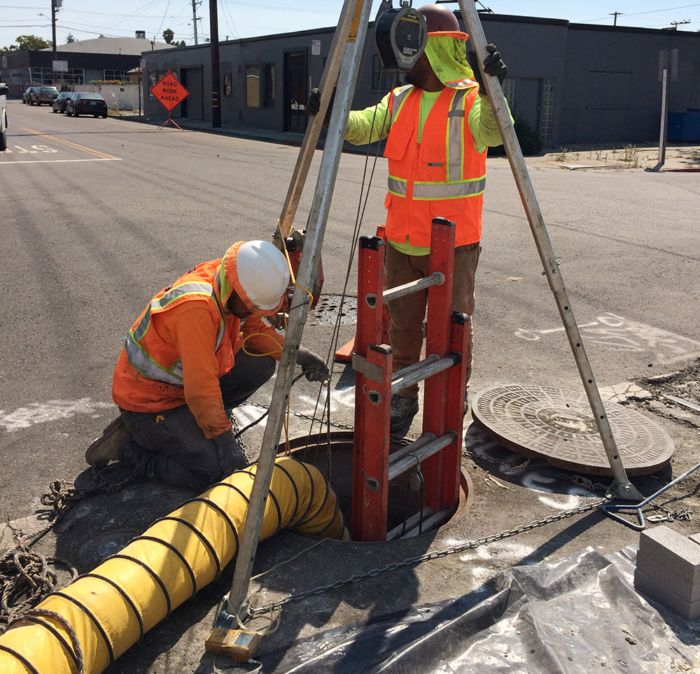safety plan for confined space The entry permit supervisor will ensure that the on-site rescue plan for the confined space has been completed and that all the rescue equipment identified in the plan is available to effect a rescue in the confined space.