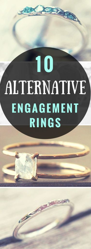 10 Head-turning Alternative Wedding Rings + Engagement Rings • Rise and Brine