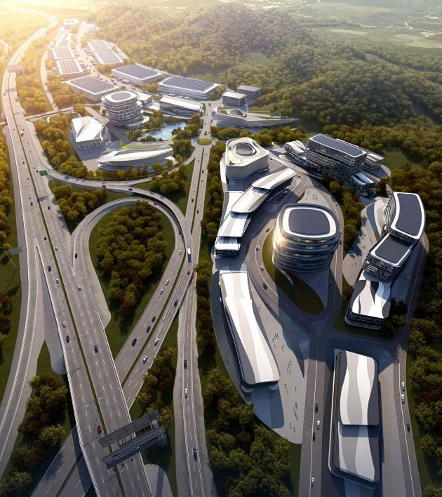 AATU Wins Competition to Design 'From Field to Kitchen' Industrial Park