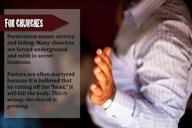 Persecution for churches http://www.commissionstories.com/asia/interactives/view/reality-of-persecution1
