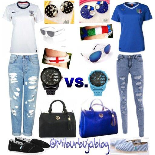 ¿Quien ganará hoy? Inglaterra Vs.  Italia ⚽ Mundial Brasil 2014 ⚽ #Mundial2014 #inglaterra #italia #diseñovenezolano #fútbol #modavenezolana #fashion #fashionblogger #fashionlove #fashionblog #ootd #outfit #outfitoftheday #outfitdeldia #style #styleoftheday #look #lookdeldia #lookoftheday #igersfashion #instafashion #instablog #instablogger