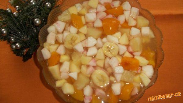 Vánoční ovocný salát