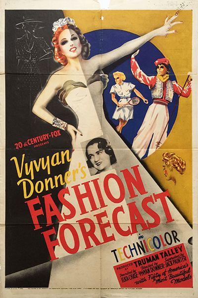 Fashion Forecast (1939 - cca. 70 x 100 cm)